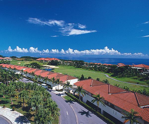 오키나와 고급 골프 3박4일 - 카누챠 베이 호텔 숙박 포함